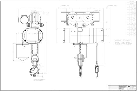 Chain Schematic Wiring by Product Code 5221m Cm Lodestar Xl Electric Chain Hoist