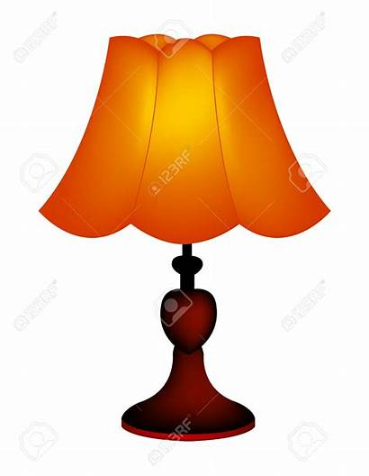 Lamp Clipart Clip Lampshade Lampenschirm Lampada Clipground
