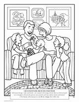 Coloring Pages Father Getcoloringpages Tree Muslim sketch template