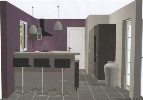 cuisine aubergine et grise chambre aubergine et beige gris pour la cuisine mais le