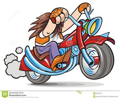 Biker Stock Vector. Illustration Of Rider, Power, Motor