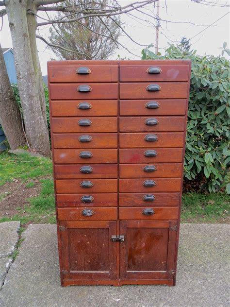 Wooden Apothecary Cabinet by Antique 20 Drawer Wood Apothecary Cabinet Collectors