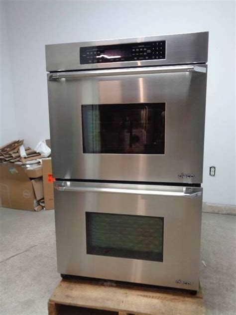 dacor eordsch  double electric wall oven ss detailed
