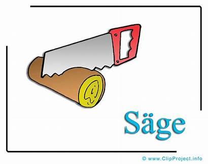 Holz Saege Cliparts Clipart Bois Gratis Tre