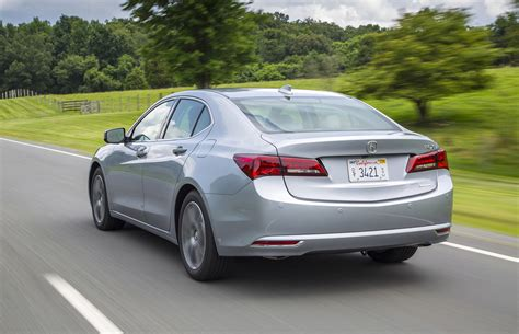 first drive 2015 acura tlx driving