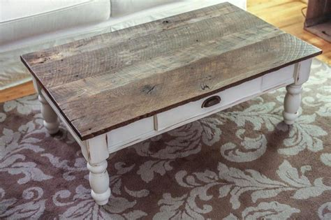 distressed wood coffee table white distressed wood coffee table for and large modern