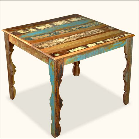 distressed wood dining table furniture captivating distressed wood dining table homelena