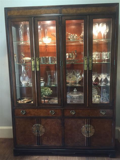 Henredon Breakfront China Cabinet by Best Breakfront China Cabinet By Henredon For Sale In