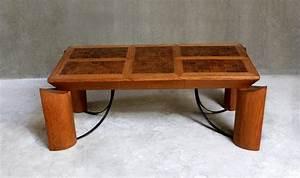 Table Contemporaine Bois Et Metal : table longue bois massif et m tal contemporaine meuble contemporain bois debout ~ Teatrodelosmanantiales.com Idées de Décoration
