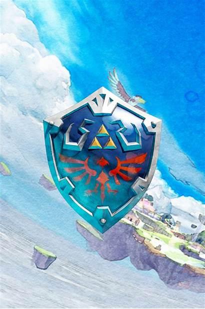 Zelda Iphone Legend Wallpapers Breath Wild Fortnite