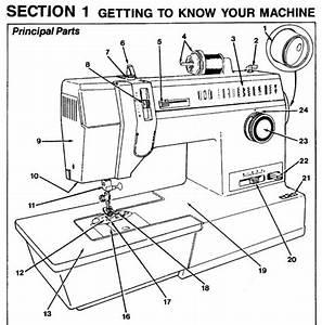 Singer 7033 7035 9410 Instruction Manual