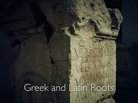Greek And Latin Roots By Madelaineljournagan