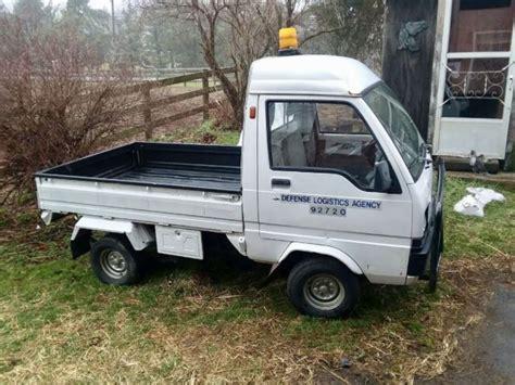 mitsubishi mini truck bed size 1989 mitsubishi mini truck minicab very clean low miles
