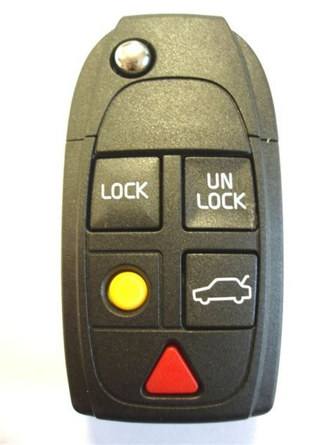 replacement  button flip key fob case  volvo