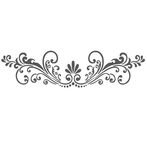 Muster Schablonen by Wall Stencils Border Stencil Pattern Reusable Template For
