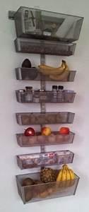 Rangement Fruits Et Légumes : faire un porte fruits l gumes mural pour la cuisine partir d 39 l ments de dressing diy ~ Melissatoandfro.com Idées de Décoration