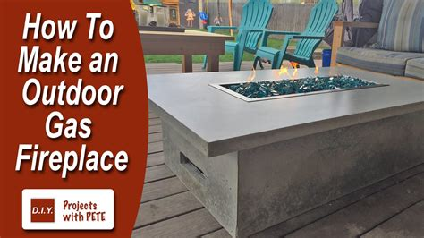 how to build a gas fireplace how to make an outdoor gas fireplace funnycat tv