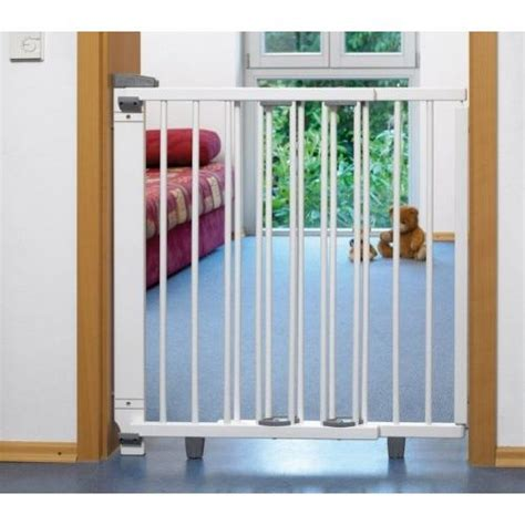 barriere protection escalier bebe barriere de protection pivotante blanche pour p achat vente barri 232 re de s 233 curit 233 barriere