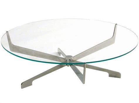 Modern designer coffee tables for the living room? Table basse ronde en verre METROPOLITAN Collection Les Contemporaines by ROCHE BOBOIS | design S ...