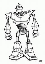 Giant Coloring Iron Power Robot Sketch Rangers Printable Sheet Boyama Pretty Disney Ferngully Quest Sketchite Remarkable Getcolorings Sketches Template Dibujo sketch template