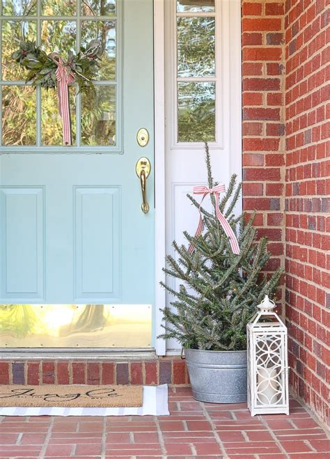 Christmas Decorating Ideas For Porches And A Home Tour