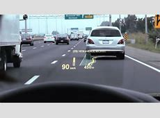 HeadsUp Displays Fighter jet technology in today's cars