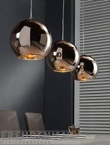 Pendelleuchte Kugel Kupfer : h ngelampe retro ball 3 kugeln kupfer lampen esszimmer ~ A.2002-acura-tl-radio.info Haus und Dekorationen