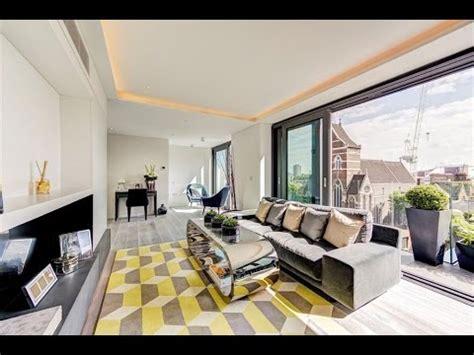 luxurious penthouse flat  london england youtube