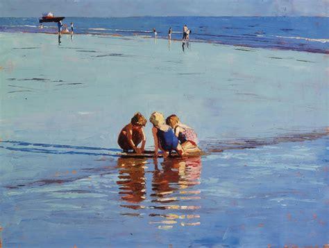 'low Tide Brighton'  Jeremy Sanders Fine Artist