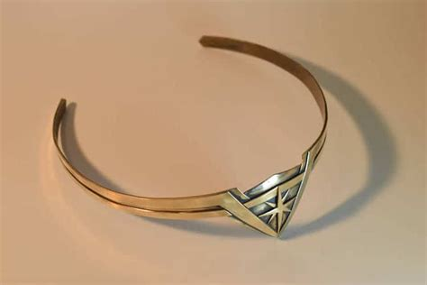 wonder woman tiara learn how to create a dazzling diy tiara