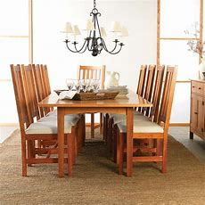 Woodland Custom Dining Table  Solid Hardwood Natural