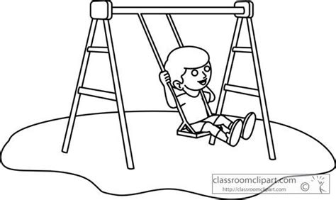 swing clipart black and white swing clipart black and white pencil and in color swing