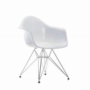 Eames Chair Weiß : vitra eames plastic arm chair dar stuhl wei esstisch pinterest stuhl design st hle und ~ Markanthonyermac.com Haus und Dekorationen