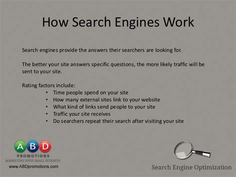 Search Engine Optimisation Techniques by Search Engine Optimization Techniques