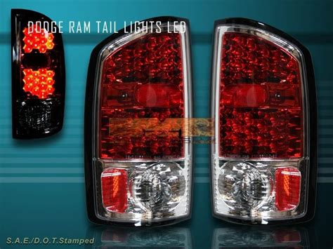 Purchase 2002-2005 Dodge Ram Truck Led Tail Lights 1500