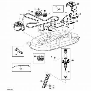 John Deere 125 Lawn Tractor Parts Diagram