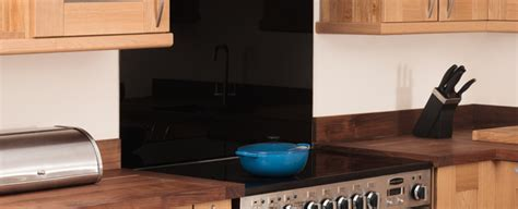 Coloured Glass & Stainless Steel Splashbacks For Kitchens