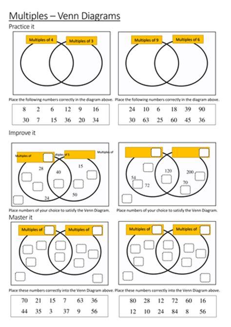 multiples venn diagrams by maths tiger teaching