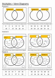 Multiples Venn Diagrams By Maths Tiger