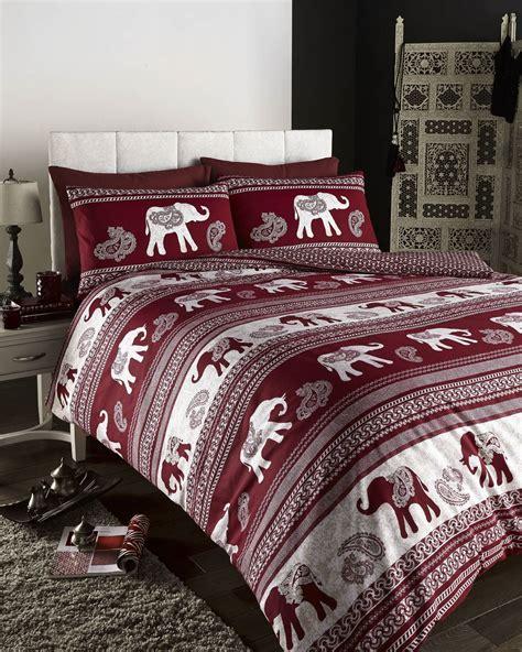 Indian Moroccan Arabic Ethnic Print Duvet Quilt Cover