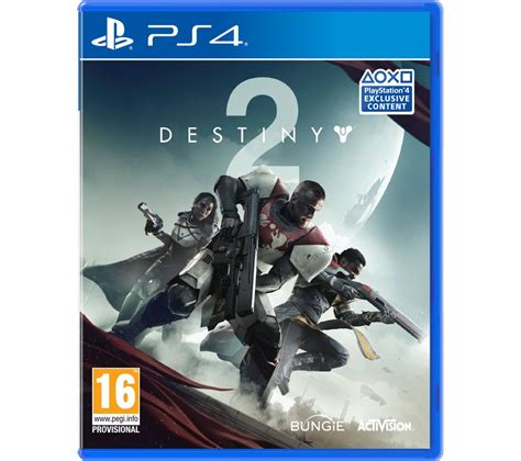 Destiny Ps4 Console by Buy Ps4 Destiny 2 Free Delivery Currys