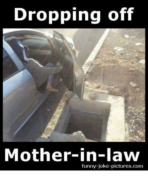 dropping  mother  law funny joke picturescom funny