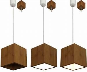 Pendelleuchte Aus Holz : holz bambus design deckenleuchte pendellampe h ngelampe ~ Lizthompson.info Haus und Dekorationen