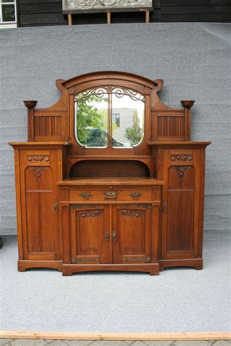 Antike Anrichte Jugendstil   Antike Biedermeier Möbel