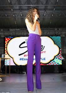 zendaya shows   endless legs  essence style block