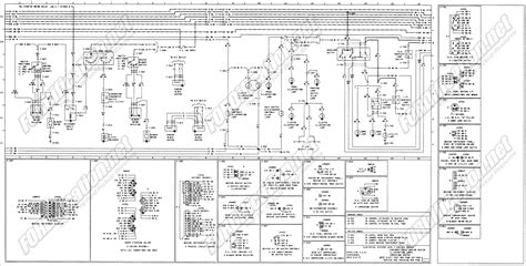 Wiring Diagram For A 1979 Ford F150 by 1973 1979 Ford Truck Wiring Diagrams Schematics