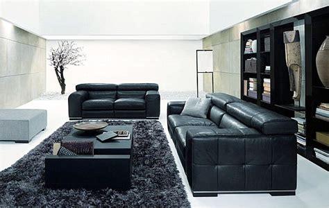 salon canapa noir daco bois un salon blanc et noir 32 ères intelligentes de l