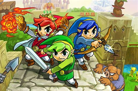 demo   legend  zelda tri force heroes hits eshop