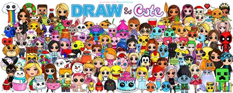anniversary character drawing poster draw  cute