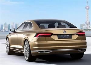 Volkswagen Hybride Rechargeable : vw c coup gte la berline hybride s expose shanghai photos ~ Melissatoandfro.com Idées de Décoration
